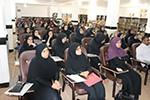 نشست خواهران مدرسه علوم دینی خلفای راشدین دشتی در مجتمع
