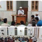 صحبتهای ایمانی شیخ داود طاوسی در جمع طلاب