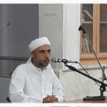 مدیر مجتمع دینی شهرستان پارسیان در جمع طلاب مدرسه خلفای راشدین دشتی