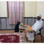 بازدید معاون اجتماعی مجتمع دینی از کلاس تعالیم اسلام و کلاس فرهنگیان خواهران دشتی
