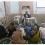 برگزاری کلاس تعالیم اسلامی برای خواهران در روستای هشنیز