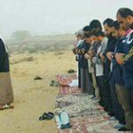 برگزاری نماز استسقاء در شهرستان پارسیان