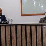 جلسه علمی مجتمع دینی با حضور شیخ عبدالکریم محمدی