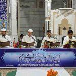 مراسم قرآن خوانی ماه مبارک رمضان در شهر دشتی
